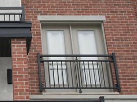 Sicheres und optisch schlichtes Fenstergitter
