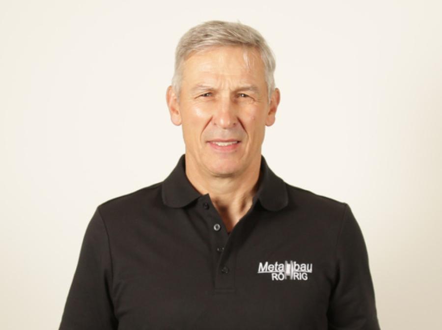 Ansprechpartner Ottokar Melder, Monteur der Metallbau Röhrig aus Hosenfeld nahe Fulda