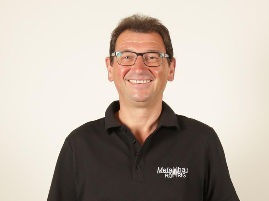 Ansprechpartner Markus Heil, Betriebselektriker der Metallbau Röhrig GmbH & Co. KG aus Hosenfeld bei Fulda