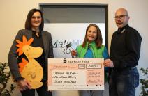 "Metallbau Röhrig spendet 2.000 Euro an den Kinder- und Jugendhospiz ""Kleine Helden"" Osthessen e. V."